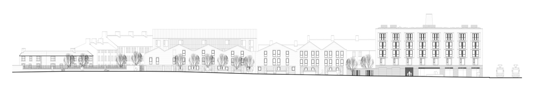 A160_PROPOSED BUCKLEY STREET ELEVATION